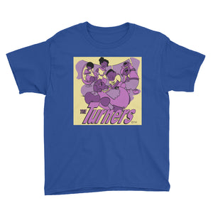 The Turners 2.0 Youth Short Sleeve T-Shirt - Afro Space