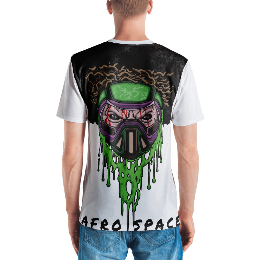Bro Toxic ALL Over Men's T-shirt - Afro Space