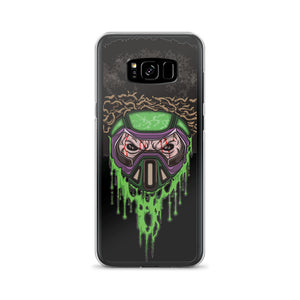 Toxic Skull Afro Space Samsung Case - Afro Space