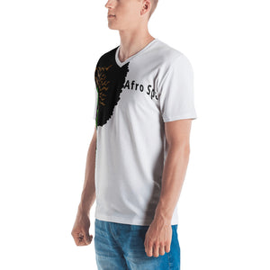 Men's T-shirt One SIde Afro Space