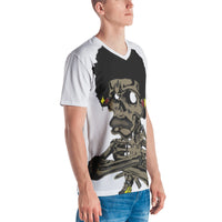 Afro Space Half Body Men's T-shirt - Afro Space