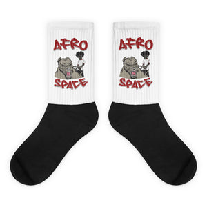 Mans Best Friend Socks - Afro Space