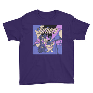 The Turners Youth Short Sleeve T-Shirt - Afro Space