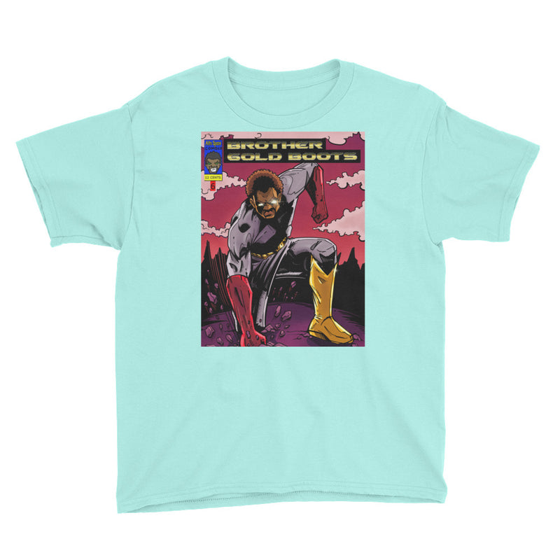 Youth BGB Short Sleeve T-Shirt - Afro Space