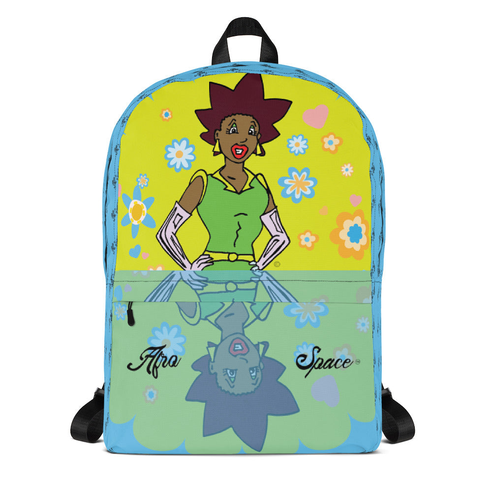 Afro Space Diva Backpack - Afro Space
