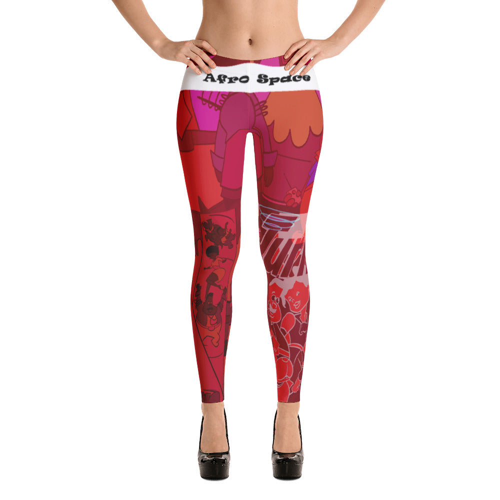 Afro Space Blended Leggings - Afro Space