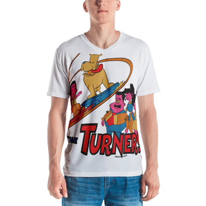 Turners All Over Men's T-shirt - Afro Space
