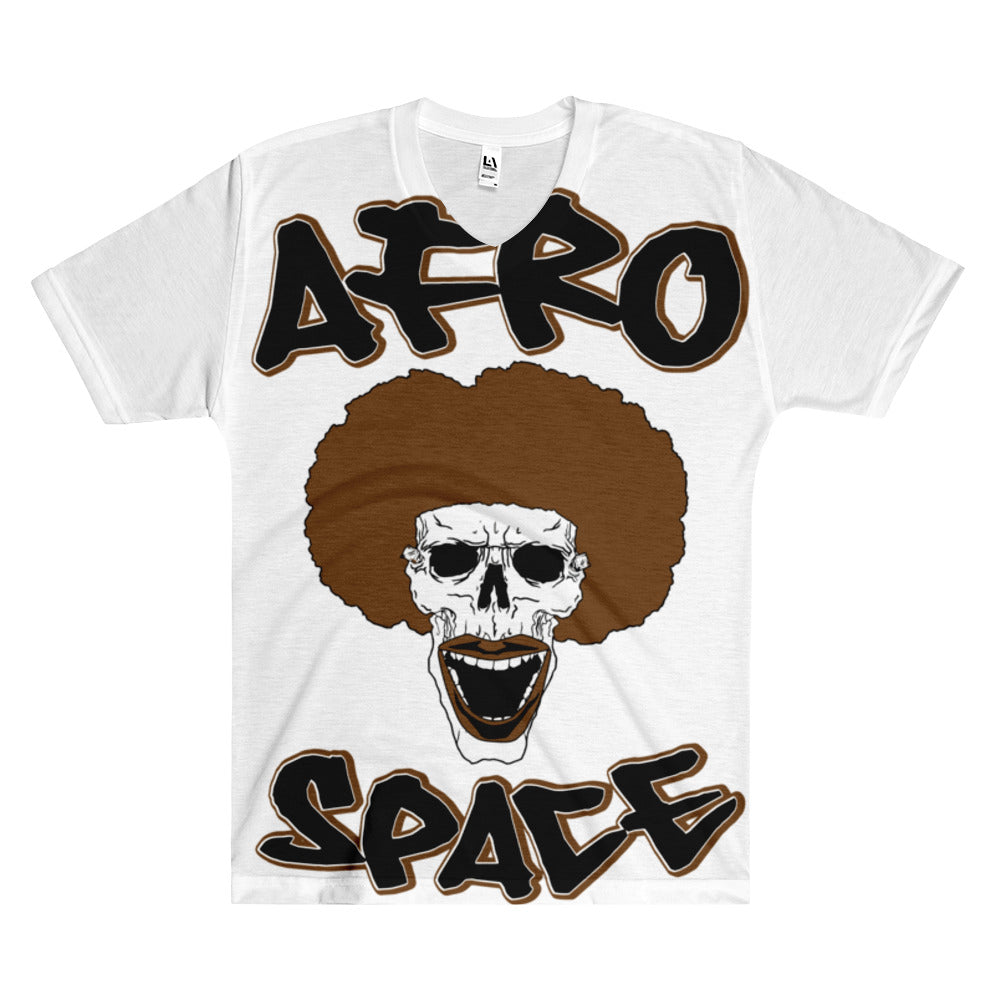 AFro Space All Over Men's V-Neck T-Shirt
