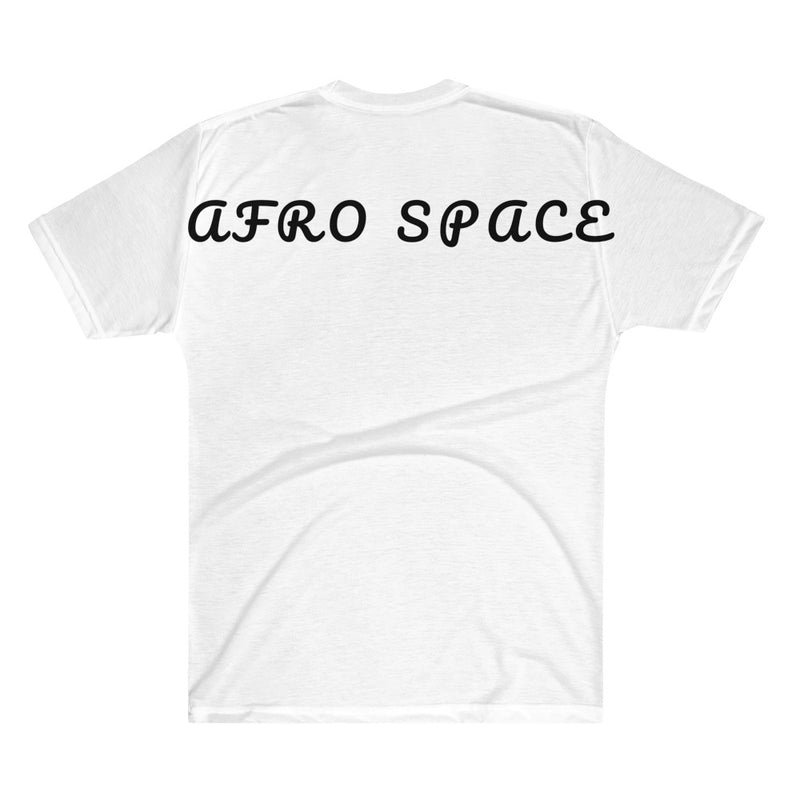 Afro Toxic Skull Men's V-Neck T-Shirt - Afro Space