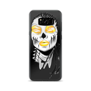 Afro Space SIsta Girl Yellow Samsung Case - Afro Space