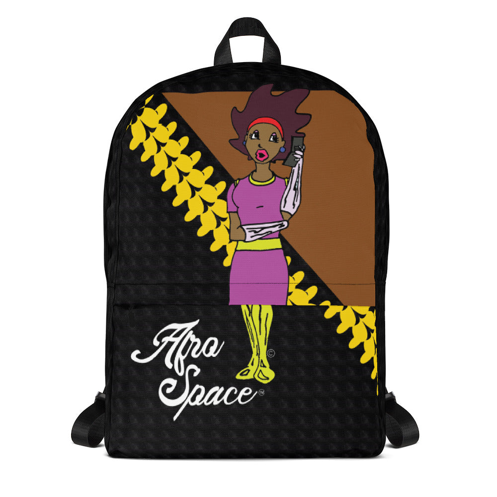 Afro Space Hello Girls Backpack - Afro Space