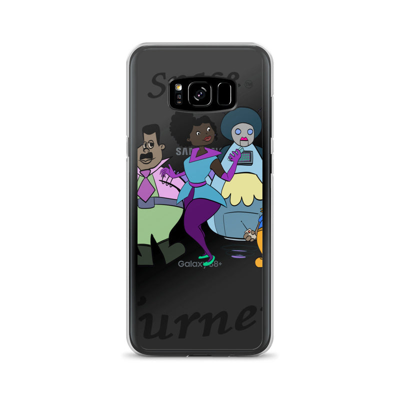 Afro Space Turners Samsung Case - Afro Space