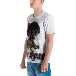 Afro Space Man Up ALL Over Men's T-shirt - Afro Space