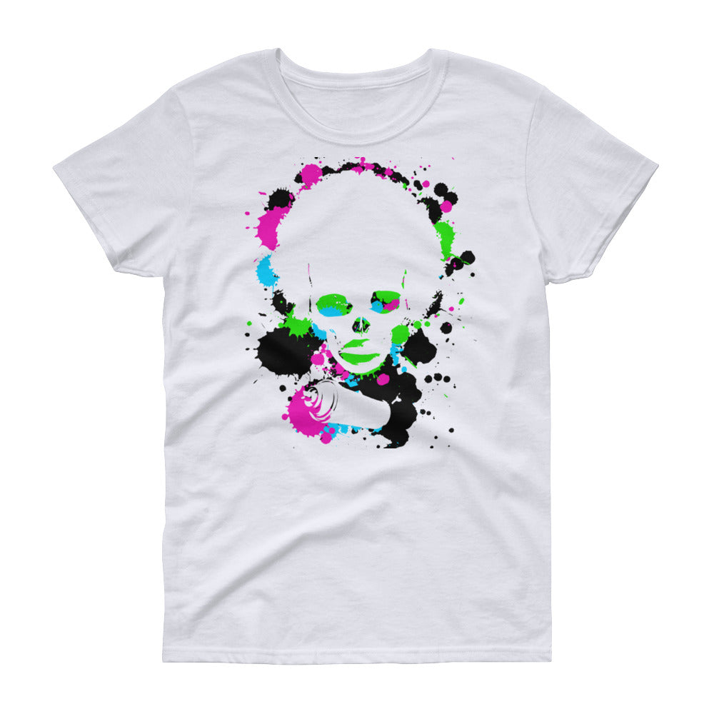 Back 2 School Tye Dye Women's short sleeve t-shirt - Afro Space