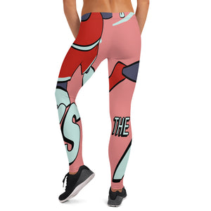 Turners Basketball Leggings - Afro Space