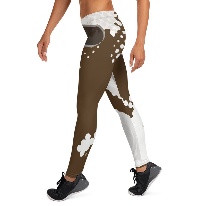 Chocolate Fusion Leggings - Afro Space