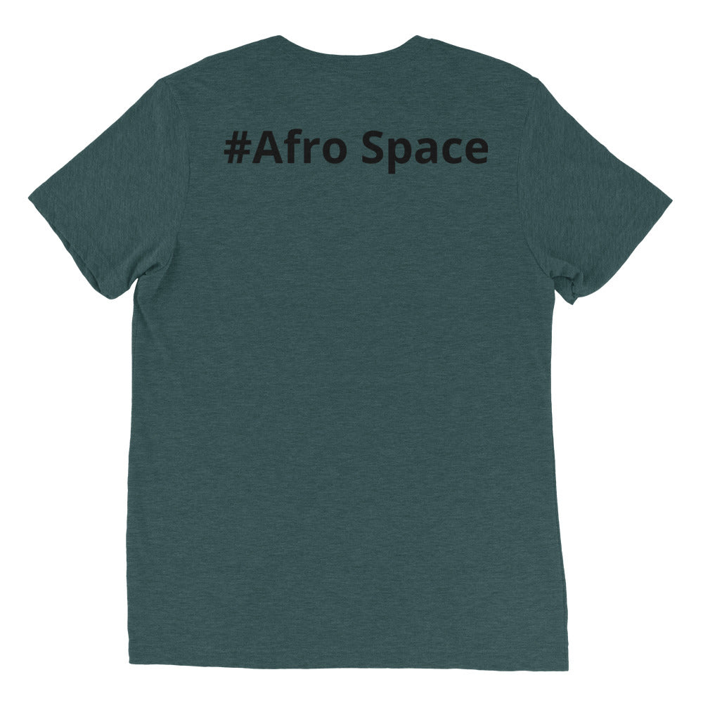 Dual Female Short sleeve t-shirt - Afro Space