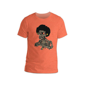 Bro's Crossed Short-Sleeve Unisex T-Shirt - Afro Space