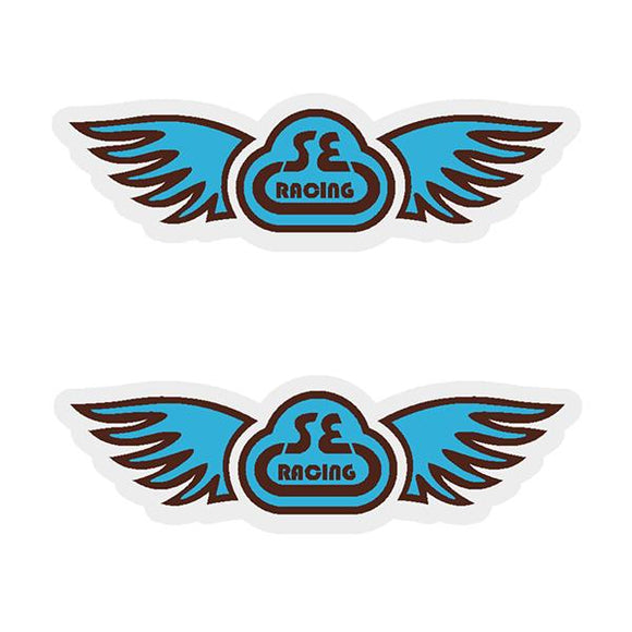 Bar and seatpole decal set SE Racing Old school bmx