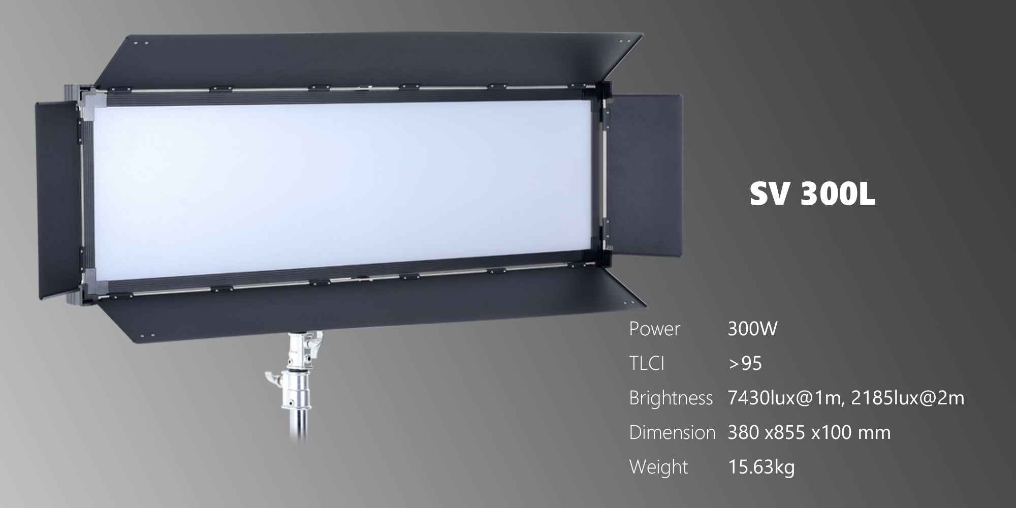 led panel for studio SV300L