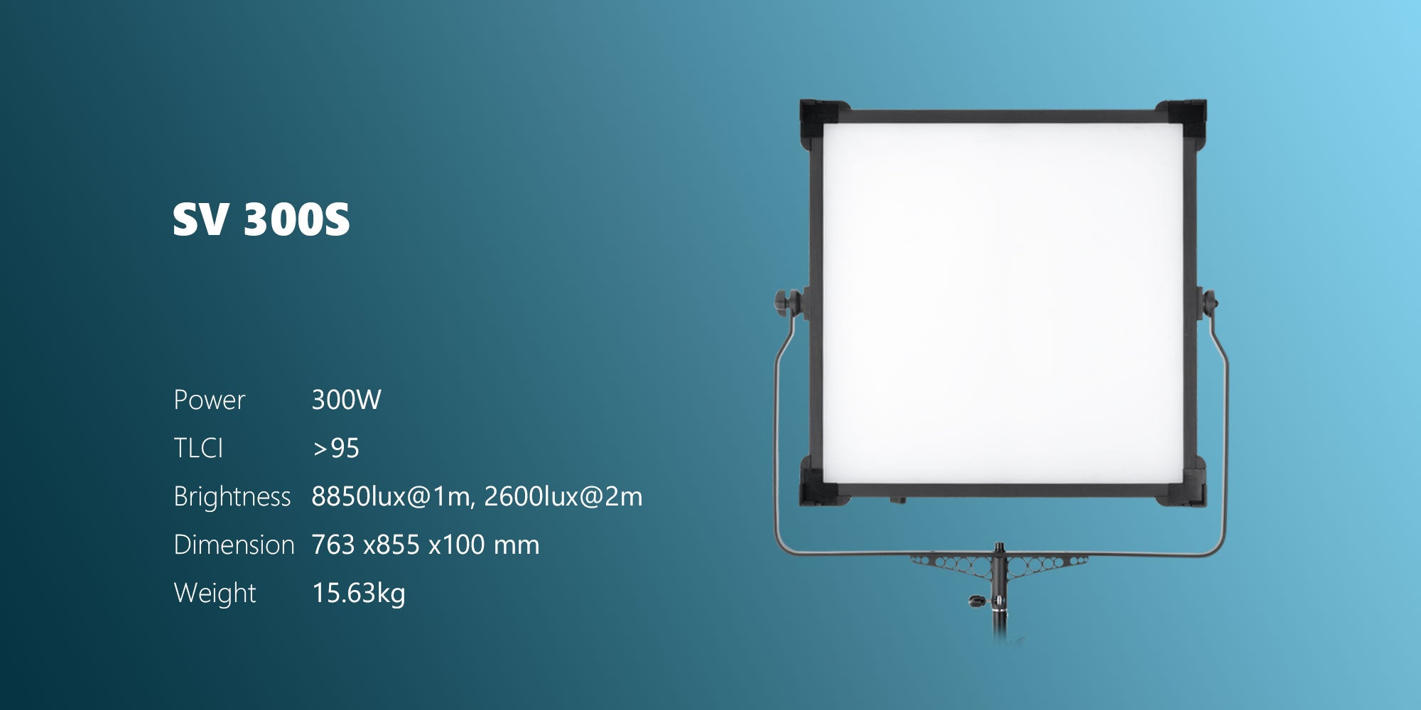 led panel for studio SV300S