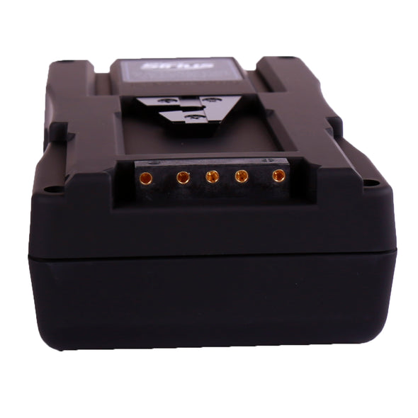 Professional Battery with rubber-like texture 160Wh V-Mount / Anton Bauer Gold Mount