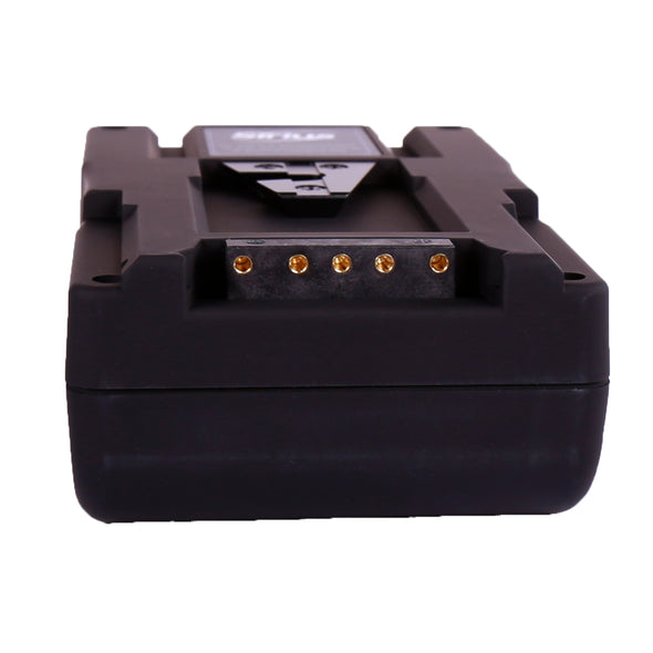 Professional Battery with rubber-like texture 95Wh V-Mount / Anton Bauer Gold Mount