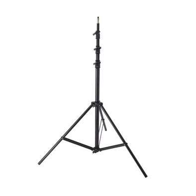 Heavy-Duty Air-Cushioned Light Stand LS-04 (Black 12.5')