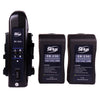 Pro Battery and Charger Kit with 2 x 230Wh Batteries and Dual Charger V-Mount / Anton Bauer Gold Mount