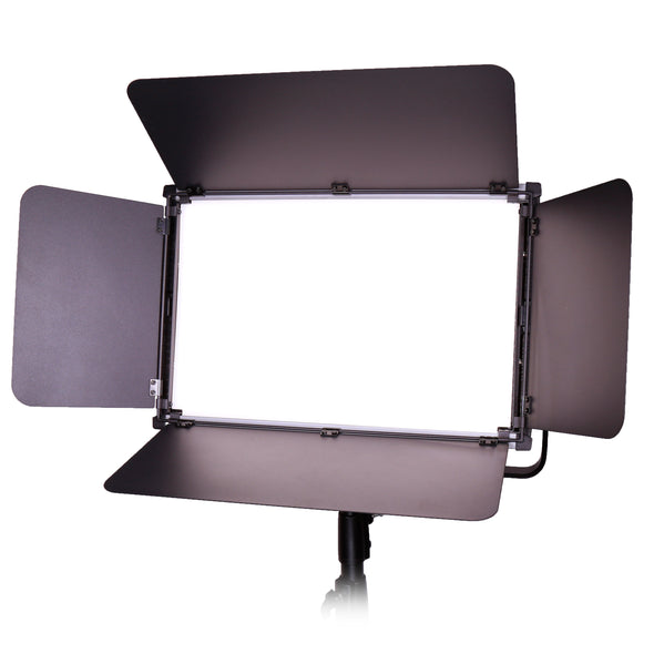 Ultrathin Aluminum LED Panel Soft Light 30 x 48cm Bi-Color 3200K-5600K with Dual V Mount Battery Plates PS150