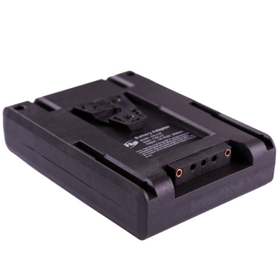 V mount to Dual Sony NP-F series DV batteries converting plate ES-V-2F
