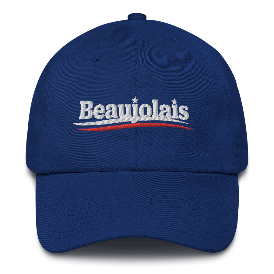 Beaujolais for President Dad Hat