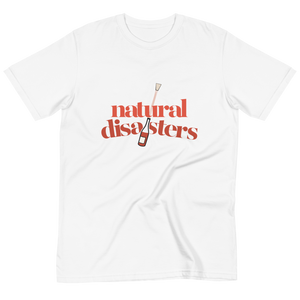 Natural Disasters White Tee