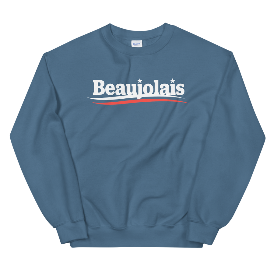 Beaujolais for President Crew Neck