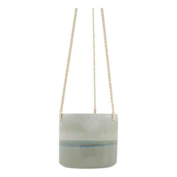 Milla Hanging Planter Pot Sage