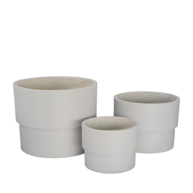 Capri Planter Pot White