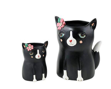 Black Cat Planter Folia House