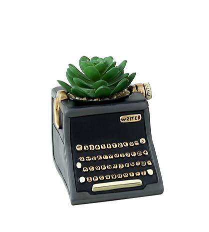 Black Writer Planter Folia House