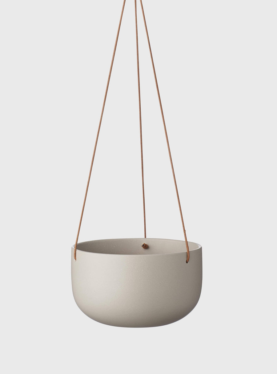 Cade Hanging Pot Large Ash Folia House