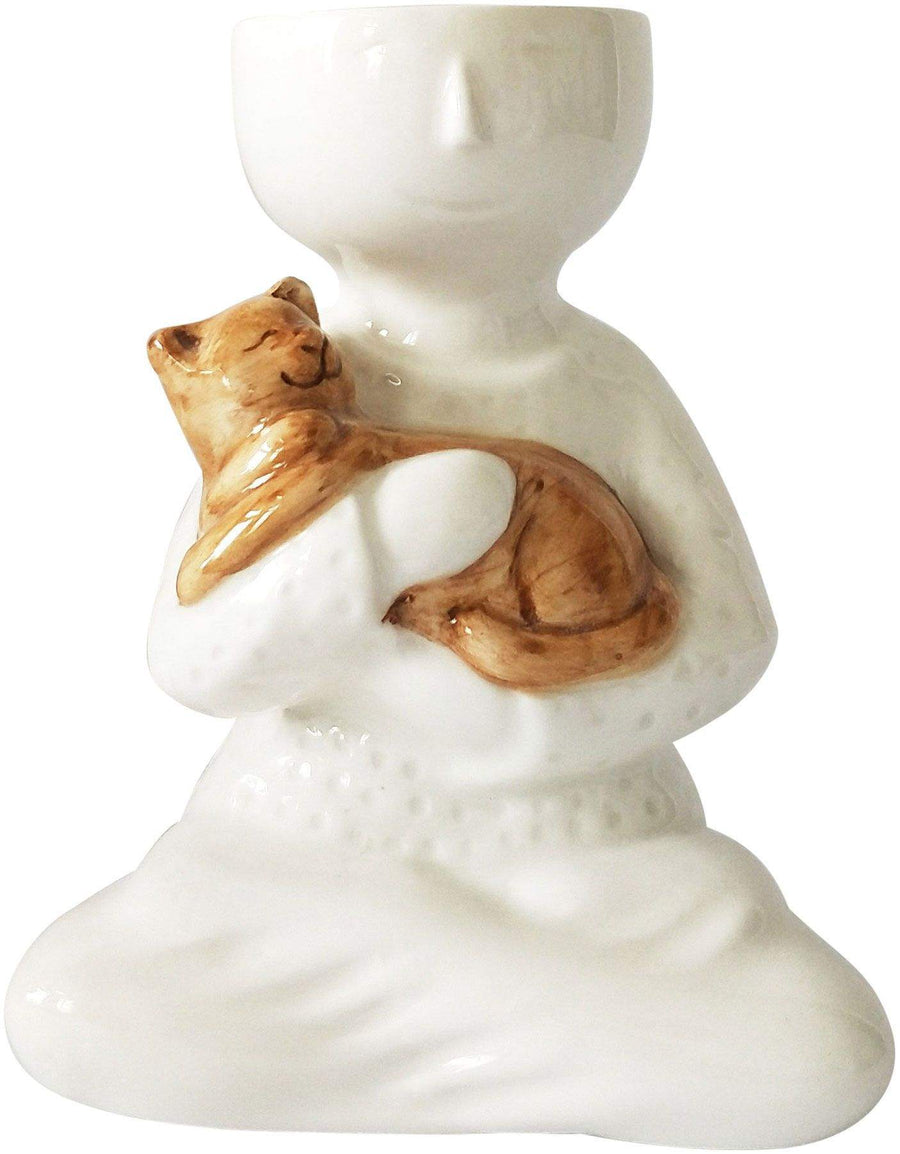 Person holding a cat/dog planter Folia House