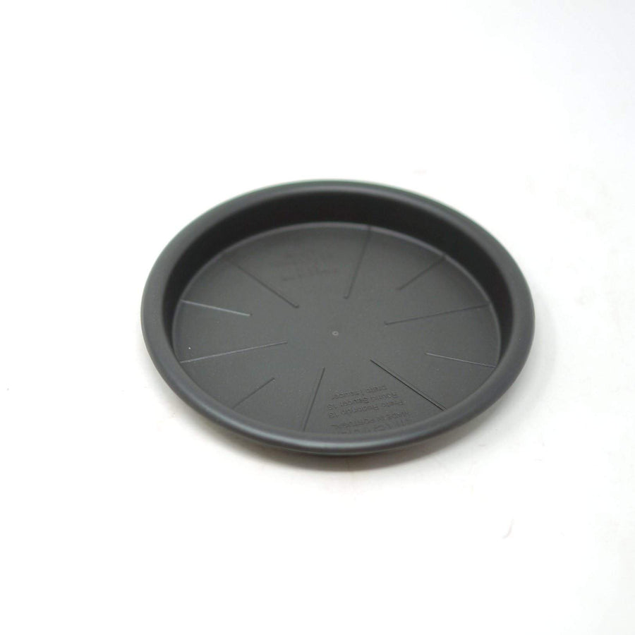 Round saucer anthracite Folia House