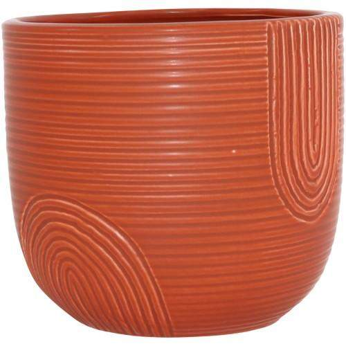 Rainbow Planter 12x13x13cm Terracotta/Pink/Mint