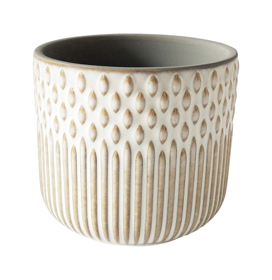 Tuscan Planter White