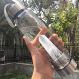 Crystal Water Bottle Portable