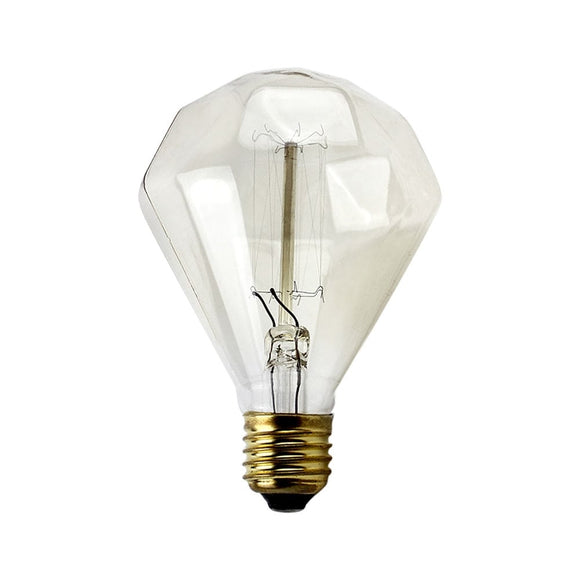 Diamond Cut Edison Bulb