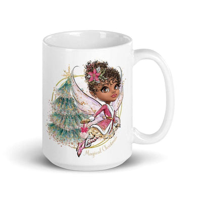 Audrey & Irene  Christmas Christmas Fairy with Tree Mug