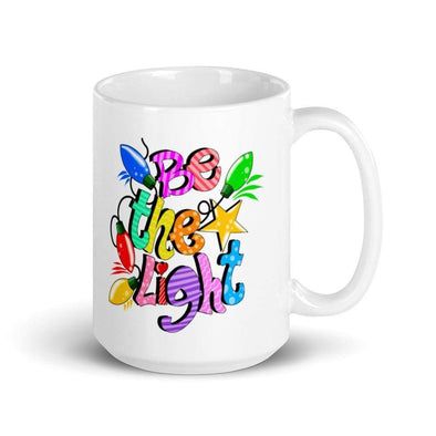 Audrey & Irene  Mugs Be The Light 15 oz Mug