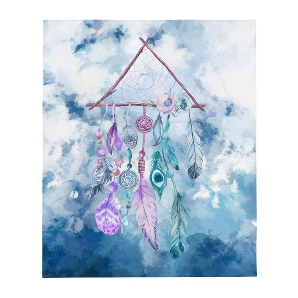 Audrey & Irene  Throw Dream Catcher Throw Blanket