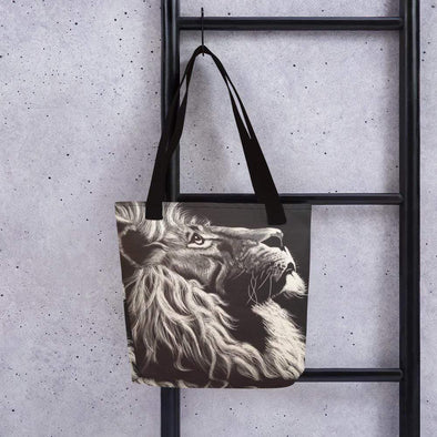 Audrey & Irene  Totes Black Lion Tote bag