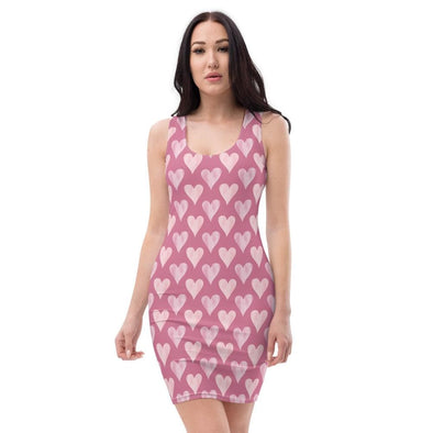 Audrey & Irene  XS Sublimation Cut & Sew Dress
